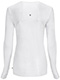 Photograph of Infinity Women Long Sleeve Underscrub Knit Tee White 2626A-WTPS