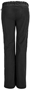 Photograph of Bliss Women's Low Rise Straight Leg Drawstring Pant Black 46000ABT-BXCH