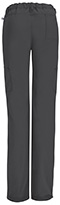 Photograph of Bliss Women's Low Rise Straight Leg Drawstring Pant Gray 46000AB-PWCH