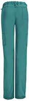 Photograph of Bliss Women's Low Rise Straight Leg Drawstring Pant Green 46000AB-TLCH