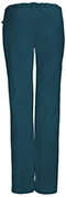 Photograph of Bliss Women's Low Rise Straight Leg Drawstring Pant Blue 46000A-CACH