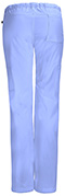 Photograph of Bliss Women's Low Rise Straight Leg Drawstring Pant Blue 46000A-CLCH