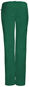 Photograph of Bliss Women's Low Rise Straight Leg Drawstring Pant Green 46000A-HNCH