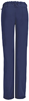 Photograph of Code Happy Bliss Women's Low Rise Straight Leg Drawstring Pant Blue 46000A-NVCH