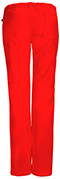 Photograph of Bliss Women Low Rise Straight Leg Drawstring Pant Red 46000A-RECH