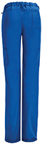 Photograph of Code Happy Bliss Women's Low Rise Straight Leg Drawstring Pant Blue 46000A-RYCH