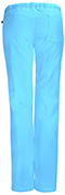 Photograph of Bliss Women's Low Rise Straight Leg Drawstring Pant Blue 46000A-TQCH