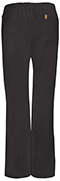 Photograph of Code Happy Bliss Women's Mid Rise Moderate Flare Drawstring Pant Black 46002AB-BXCH