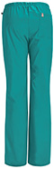 Photograph of Code Happy Bliss Women's Mid Rise Moderate Flare Drawstring Pant Green 46002AB-TLCH