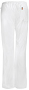 Photograph of Code Happy Bliss Women's Mid Rise Moderate Flare Drawstring Pant White 46002AB-WHCH