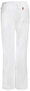 Photograph of Bliss Women's Mid Rise Moderate Flare Drawstring Pant White 46002AP-WHCH