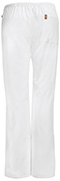 Photograph of Bliss Women's Mid Rise Moderate Flare Drawstring Pant White 46002AT-WHCH