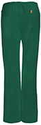 Photograph of Bliss Women's Mid Rise Moderate Flare Drawstring Pant Green 46002A-HNCH