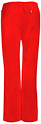 Photograph of Bliss Women's Mid Rise Moderate Flare Drawstring Pant Red 46002A-RECH