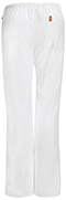 Photograph of Bliss Women's Mid Rise Moderate Flare Drawstring Pant White 46002A-WHCH