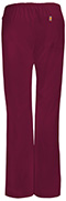 Photograph of Bliss Women's Mid Rise Moderate Flare Drawstring Pant Purple 46002A-WICH