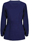 Photograph of Code Happy Bliss Women's Snap Front Warm-up Jacket Blue 46300AB-NVCH