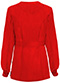 Photograph of Bliss Women's Snap Front Warm-up Jacket Red 46300A-RECH