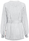 Photograph of Bliss Women's Snap Front Warm-up Jacket White 46300A-WHCH