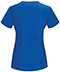 Photograph of Bliss Women's V-Neck Top Blue 46600AB-RYCH