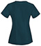 Photograph of Bliss Women V-Neck Top Blue 46600A-CACH