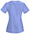 Photograph of Bliss Women V-Neck Top Blue 46600A-CLCH
