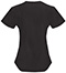 Photograph of Code Happy Bliss Women's Mock Wrap Top Black 46601AB-BXCH