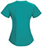 Photograph of Bliss Women Mock Wrap Top Green 46601AB-TLCH