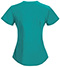 Photograph of Bliss Women's Mock Wrap Top Green 46601A-TLCH