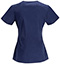 Photograph of Bliss Women's V-Neck Top Blue 46607AB-NVCH