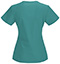 Photograph of Bliss Women's V-Neck Top Green 46607AB-TLCH