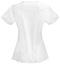 Photograph of Code Happy Bliss Women's V-Neck Top White 46607AB-WHCH