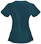 Photograph of Bliss Women's V-Neck Top Blue 46607A-CACH