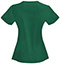 Photograph of Bliss Women's V-Neck Top Green 46607A-HNCH