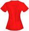 Photograph of Code Happy Bliss Women's V-Neck Top Red 46607A-RECH
