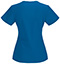 Photograph of Bliss Women's V-Neck Top Blue 46607A-RYCH