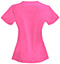 Photograph of Code Happy Bliss Women's V-Neck Top Pink 46607A-SHCH