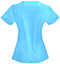 Photograph of Bliss Women's V-Neck Top Blue 46607A-TQCH