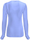 Photograph of Code Happy Bliss Women's Long Sleeve Underscrub Knit Tee Blue 46608A-CLCH