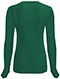 Photograph of Code Happy Bliss Women's Long Sleeve Underscrub Knit Tee Green 46608A-HNCH