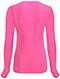 Photograph of Code Happy Bliss Women's Long Sleeve Underscrub Knit Tee Pink 46608A-SHCH