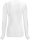 Photograph of Code Happy Bliss Women's Long Sleeve Underscrub Knit Tee White 46608A-WHCH