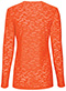 Photograph of WW Originals Women's Long Sleeve Underscrub Knit Tee Orange 4882-PUNW