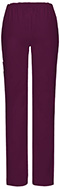 Photograph of Dickies EDS Signature Stretch Women's Mid Rise Moderate Flare Leg Pull-On Pant Red 82204AT-WIWZ
