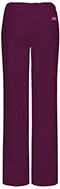 Photograph of Dickies EDS Signature Stretch Women's Low Rise Straight Leg Drawstring Pant Red 82212AP-WIWZ