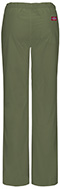 Photograph of EDS Signature Stretch Women Low Rise Straight Leg Drawstring Pant Green 82212A-OLWZ