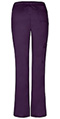 Photograph of Dickies Gen Flex Low Rise Straight Leg Drawstring Pant in Eggplant