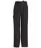 Photograph of Luxe Men's Men's Fly Front Drawstring Pant Black 1022-BLKV