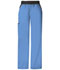 Photograph of Cherokee Flexibles Women\'s Mid Rise Knit Waist Pull-On Pant Blue 1031P-CIEB