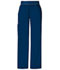 Photograph of Cherokee Flexibles Women\'s Mid Rise Knit Waist Pull-On Pant Blue 1031P-NVYB